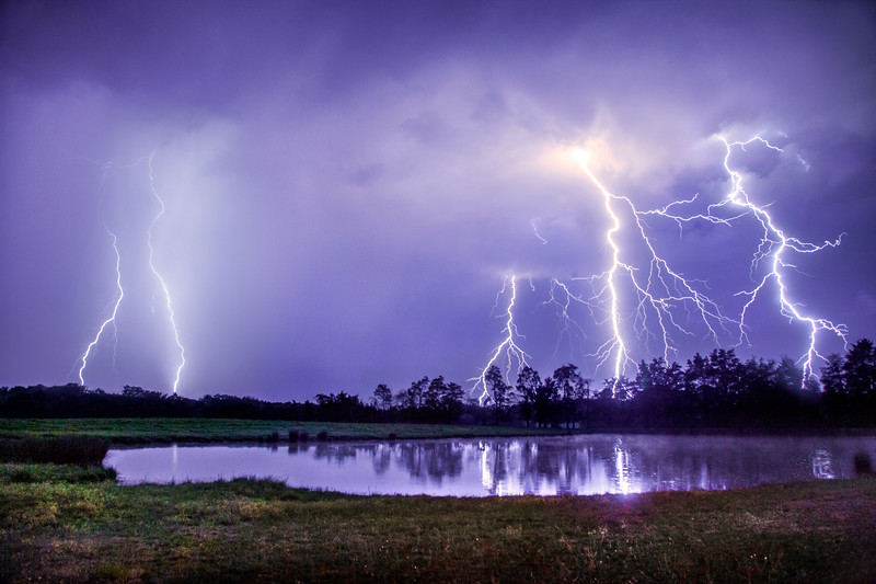 Lightning Barrage in NC