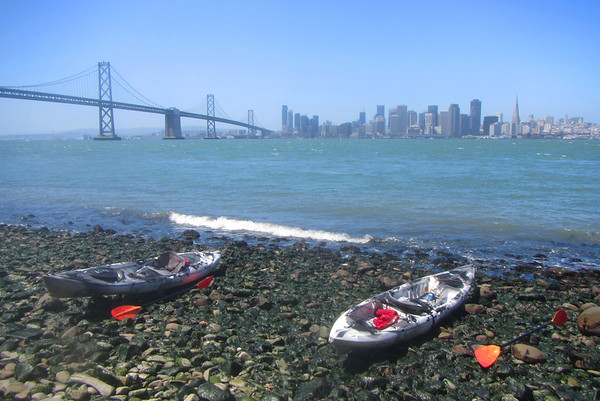 SF Bay Kayak to Yerba Buena Island: Jun 12, 2016