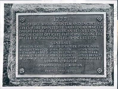 General Officers Plaque *