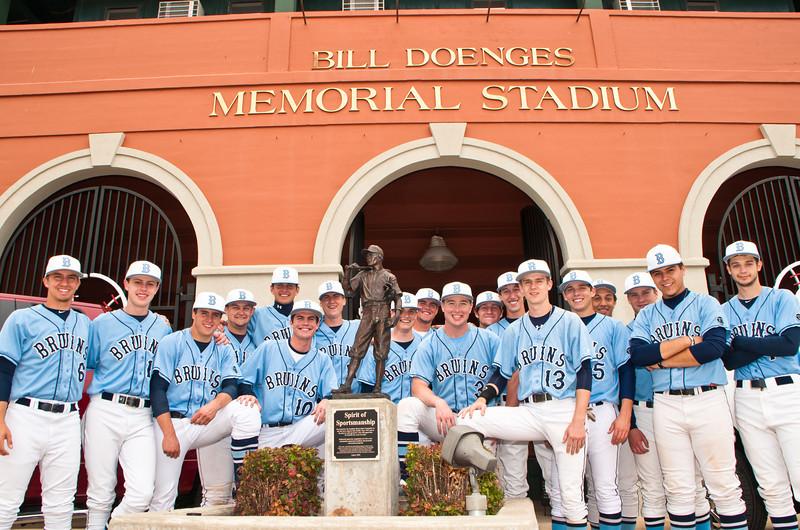 Bartlesville Bruin Baseball Team