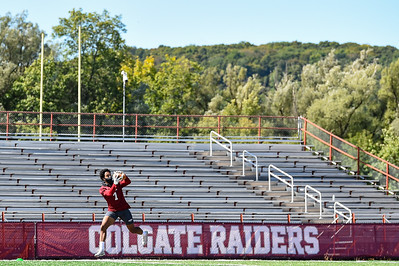 NCAA Football: Colgate Practice; 9/20/20