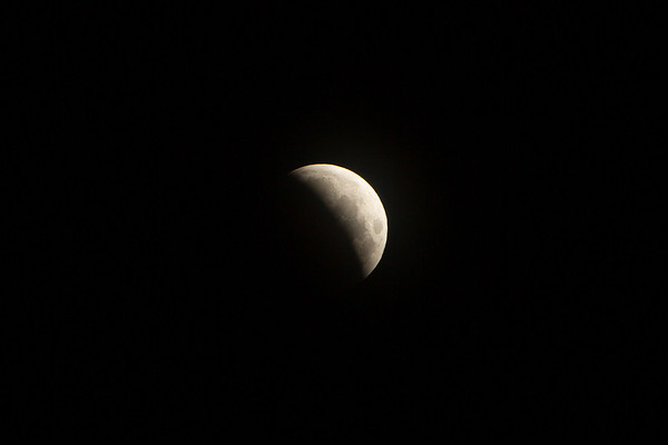 Lunar Eclipse and Sunrise