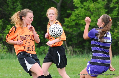 Jonesville vs Jackson Christian Girls Soccer