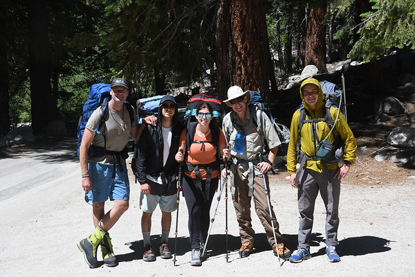 Mt. Whitney Mountaineers Route July 9-11, 2019