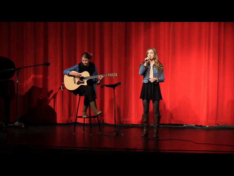 "Here's McKenna's outstanding round 2 performance of ""Valerie"" that earned her a trip into the top 3 of MSHS Wildcat Idol! Great job, McKenna! She's accompanied fantastically on guitar by Natalie Werner."
