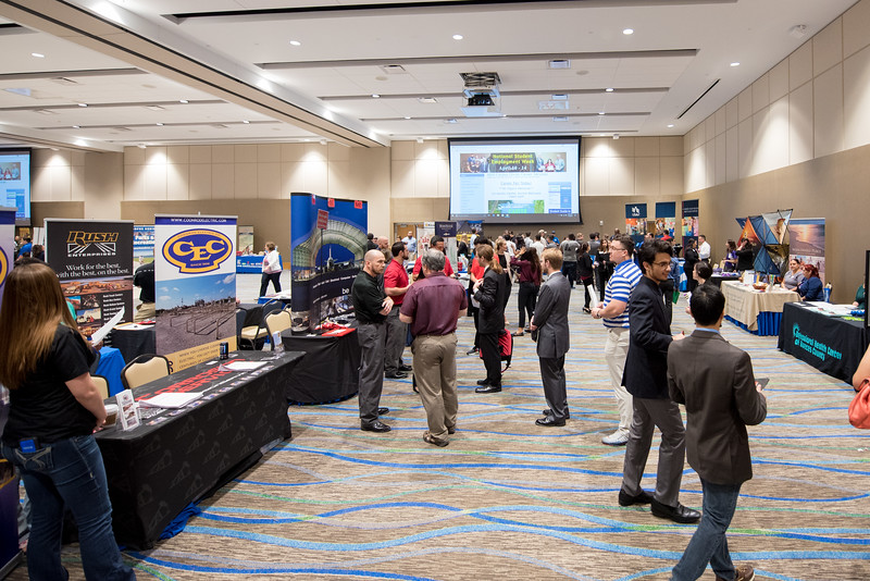 TAMU-CC career services held a career fair in the University Center's anchor ballrooms.