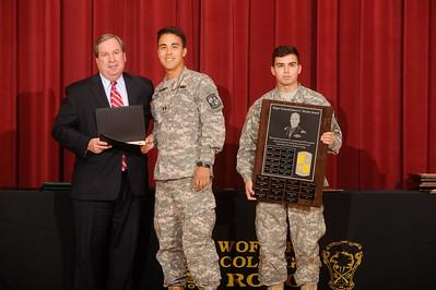ROTC Battalion Awards