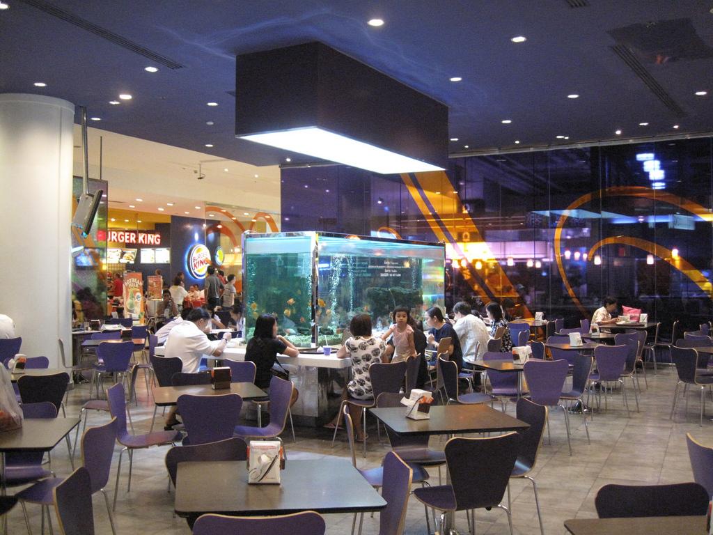 Bangkok: Siam Paragon food court