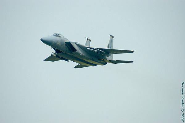 EHLW 2007-8-06 F-15's + Mirages