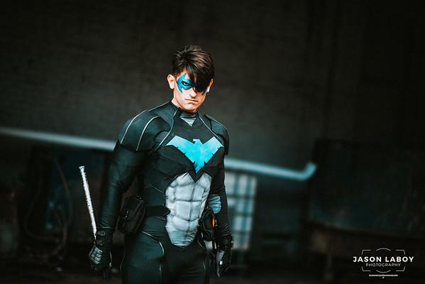 Masked Mateo Nightwing