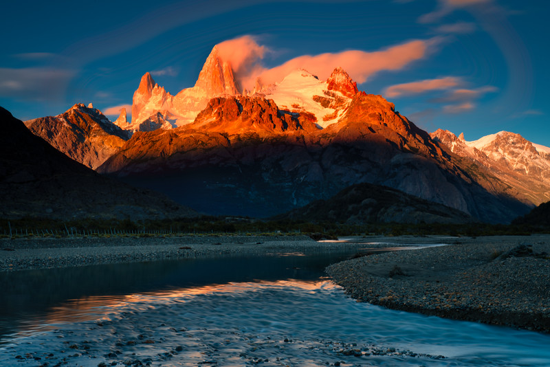 Incoming Storm, Torres del Paine
