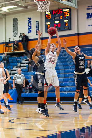 Wheaton College Women's Basketball vs St Mary's College/ Beth Baker Classic