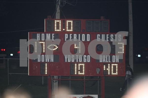 Varsity-Oak Grove vs Warrensburg 8-28-09