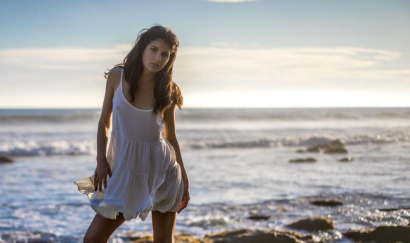 Green Eyed Goddess @ Malibu Sunset!  Sony A7R RAW Photos of Pretty Brunette Bikini Swimsuit Model Goddess in Seaside Bluff Cliff! Carl Zeiss Sony FE 55mm F1.8 ZA Sonnar T* Lens! Lightroom 5.3 Malibu Beach!