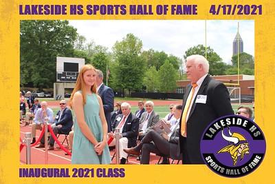 Lakeside High School HOF Class of 2021-4/17/2021