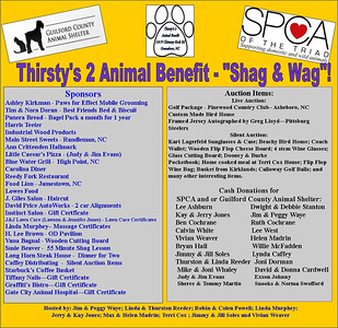 2013 Thirsty's 2 Animal Benefit