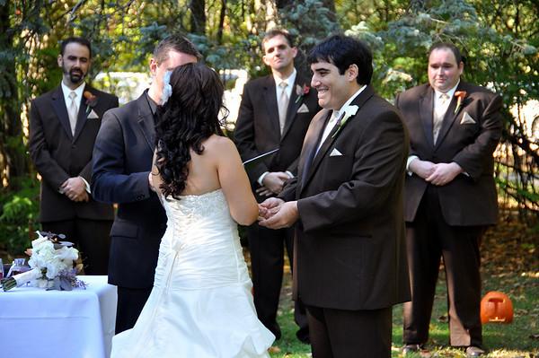 Justin & Kim's Wedding 10/10/10 in Rochester, NH