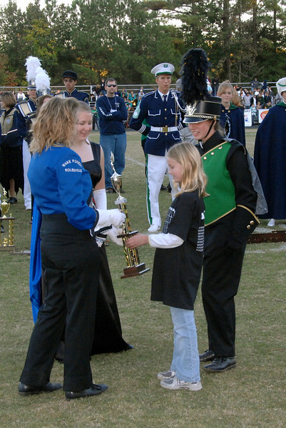 2007-11-03 Cary Band Day Awards - Afternoon