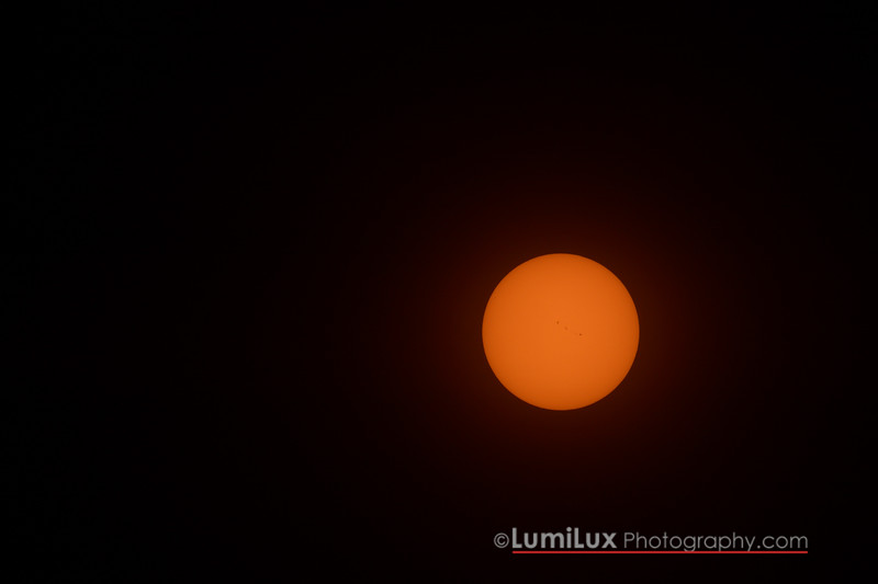 so cool being able to see the sunspots