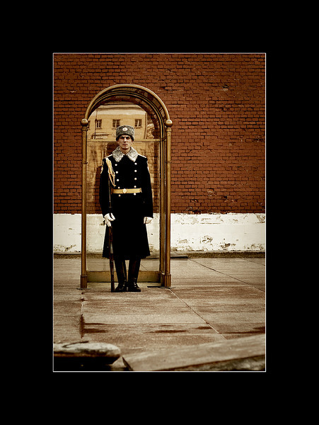 Guarding the Tomb of the Unknowns