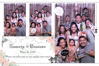 Shaunty & Brandon's Wedding (Magic Mirror Photo Booth)