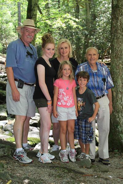 Me, Anna, Debbie, Reagan, Reece, Dad June 2012