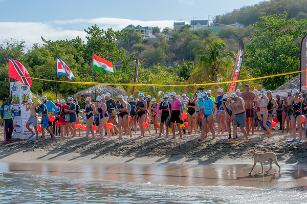 Nevis to  St. Kitts Cross Channel Swim 2019