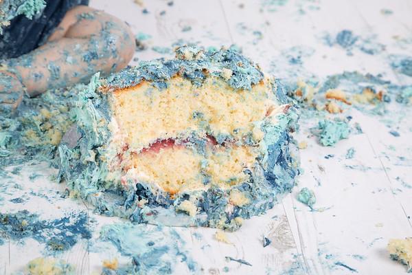 Leo cake smash