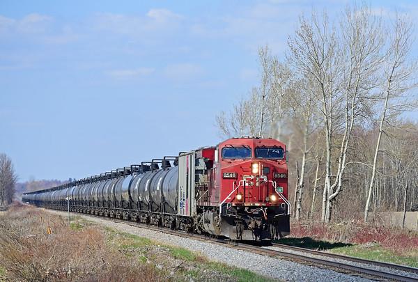Canadian Pacific 650, Lacolle, Quebec, April 30 2019.