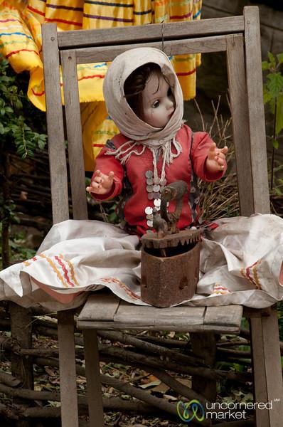 Spooky Doll Masuleh, Iran