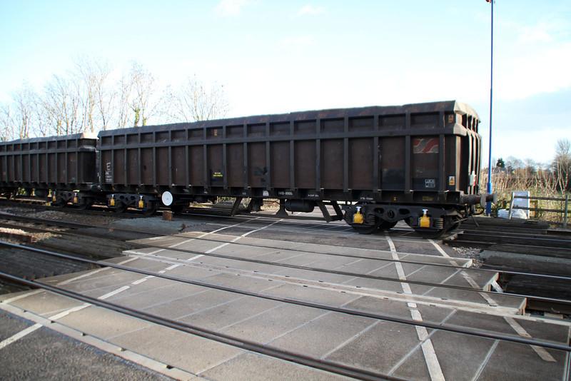 JNA 9816 seen at Hillam Gates 27/12/13.