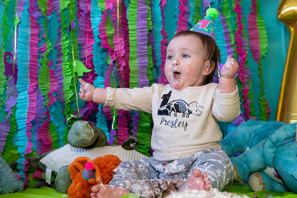 Presley's 1st Birthday Feb. 3, 2019