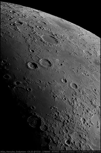 Craters Atlas, Hercules & Endymion