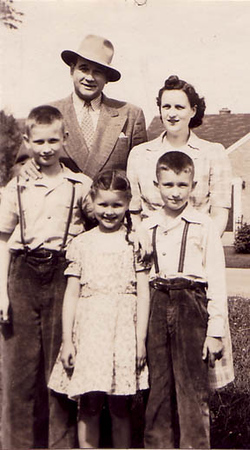 Mom and Dad with Don, Bob and Ruth