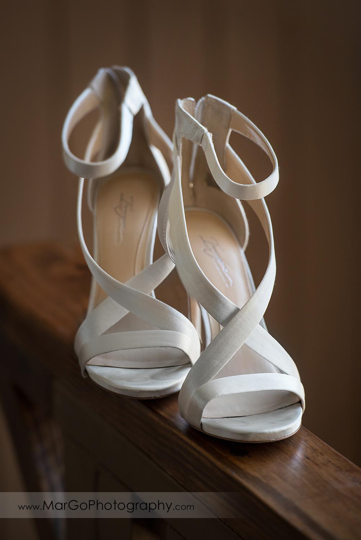 wedding shoes at Sunol's Casa Bella