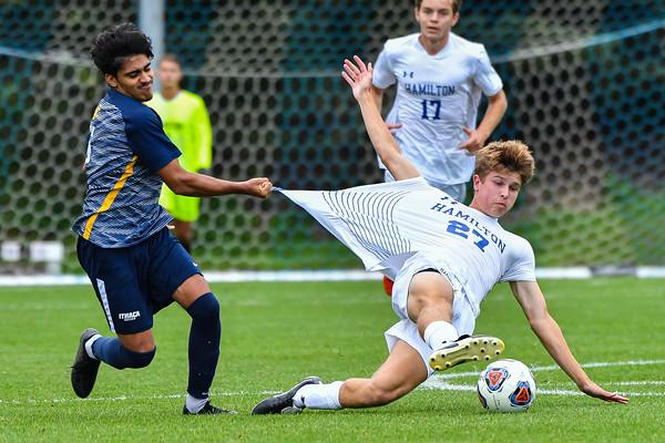 Hamilton Men's Soccer v Ithaca 9-21-21