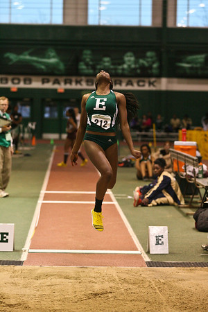 Women's Long Jump - 2013 MAC Indoor Championships