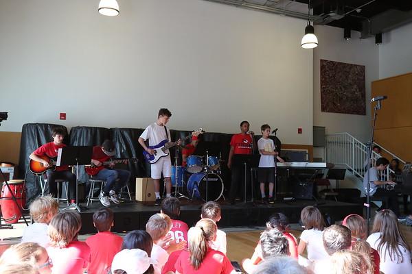 Middle School Recital  May, 10, 18