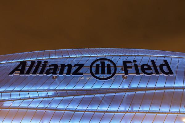 Allianz Field - New Year's Eve Lighting