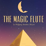 The Magic Flute by Wolfgang Amadeus Mozart Poster