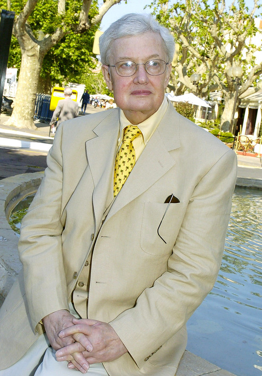 . This May 17, 2004 file photo shows Pulitzer Prize winning film critc Roger Ebert at the 57th International Film Festival in Cannes, southern France. (AP Photo/Michel Euler, file)