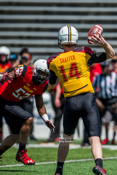 Red and White Spring Football Game