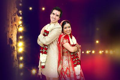 Wedding Ceremony of Apeksha and Alex