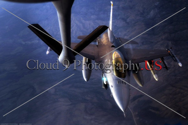 USAF Lockheed Martin F-16 Fighting Falcon Aerial Refueling Pictures