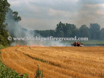 7/19/07 - Mason field fire, 2111 Coy Rd