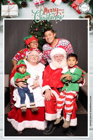 American Eat CO Santa Photos