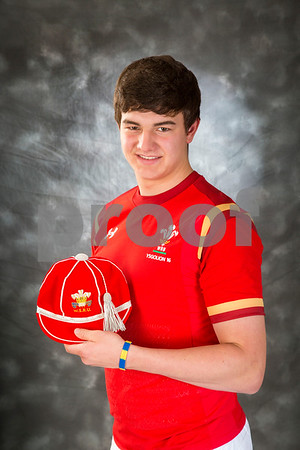 Ieuan  Davies under 16 's welsh cap