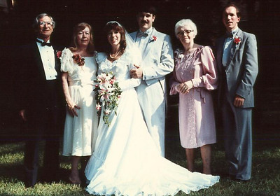 John and Tracy's Wedding (6 Jul 1985)