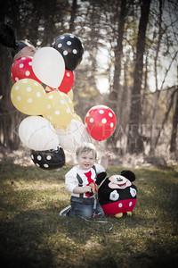 Portraits- Derek's 1st Birthday