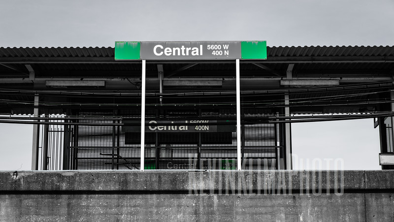 Central Green Line CTA Station